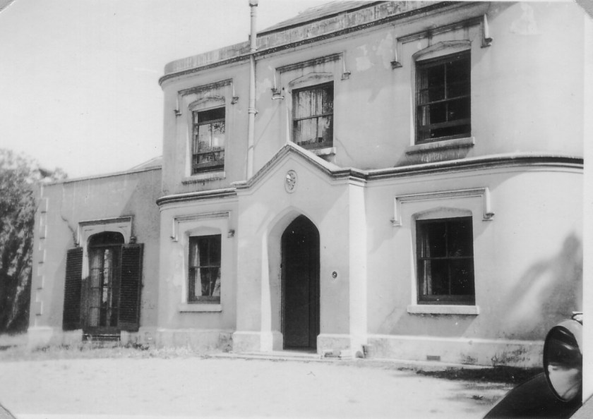 Richborough camp, Sandwich, Erna Finkelstein - Woodnesborough Grange as it was during WW2.