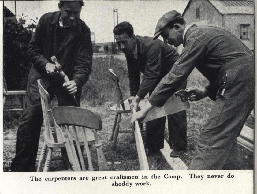 Richborough trust camp 1939