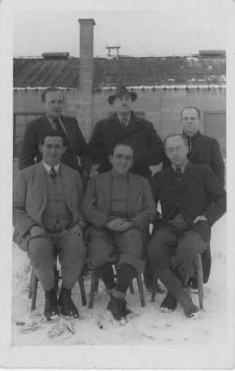 Richborough transit camp, Lothar Nelken, 1939