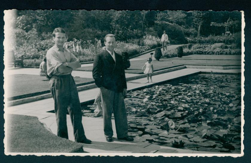 Richborough camp 1939, Erich Peritz