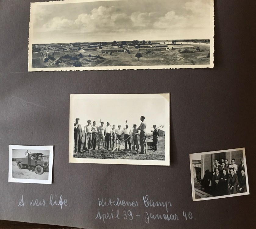 Richborough camp 1939, Victor Cohn, Photo album, April 1939 to January 1940