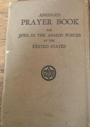 Richborough camp 1939, Emanuel Suessmann, Jews in the Armed Forces Prayer Book, 1941, Cover