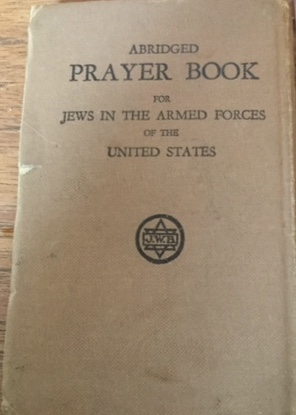 Richborough camp 1939, Emanuel Suessmann, Jews in the Armed Forces Prayer Book, 1941, Cover