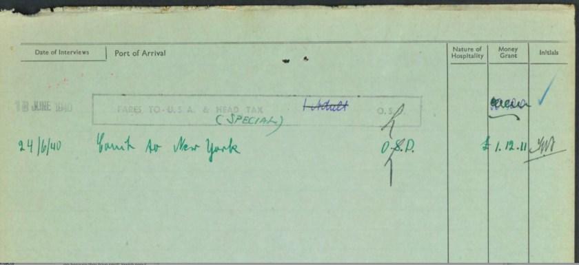 Kitchener camp, Emanuel Süssmann, German Jewish Aid Committee, page 2