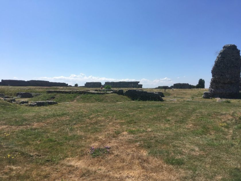 Kitchener camp - days out, Phineas May diaries - Richborough fort, 2018