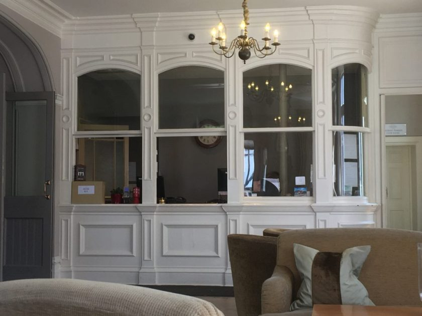 Kitchener camp, Sandwich, The Bell Hotel reception, Phineas May diary