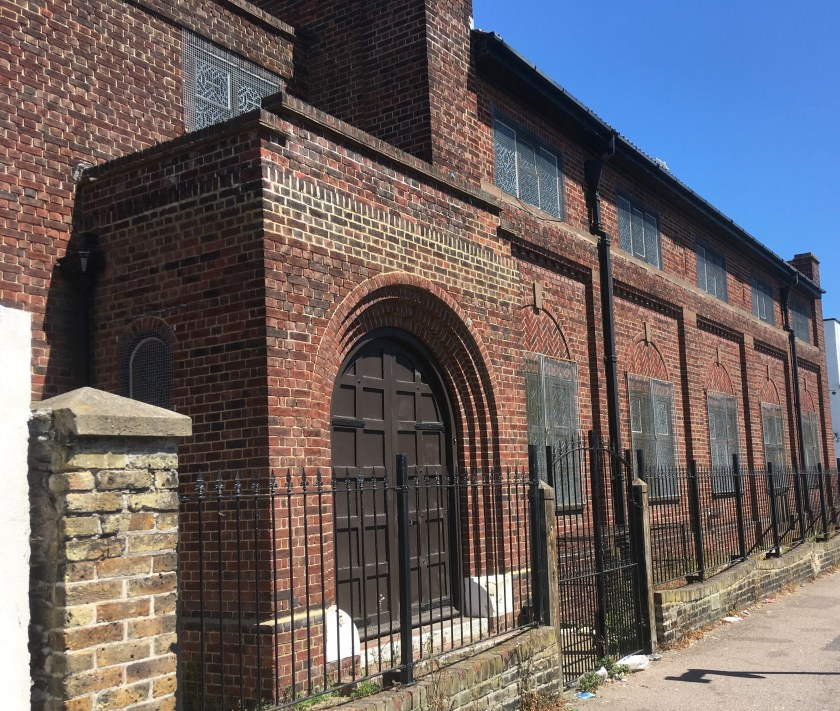 Richborough transit camp, Sandwich 2018, Margate synagogue