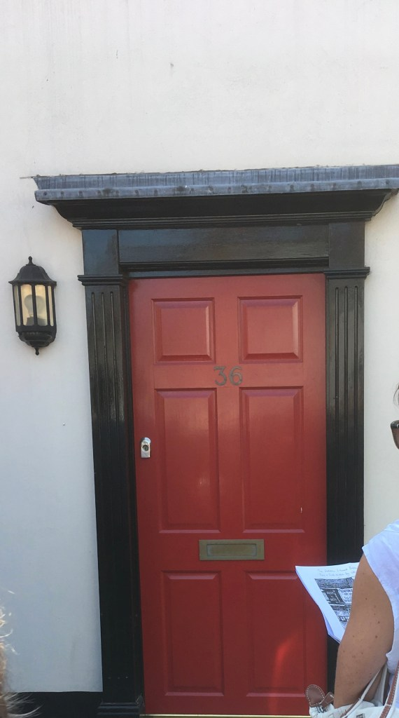 Kitchener camp, Sandwich - site of Kimber's 'coffee and cake' shop.