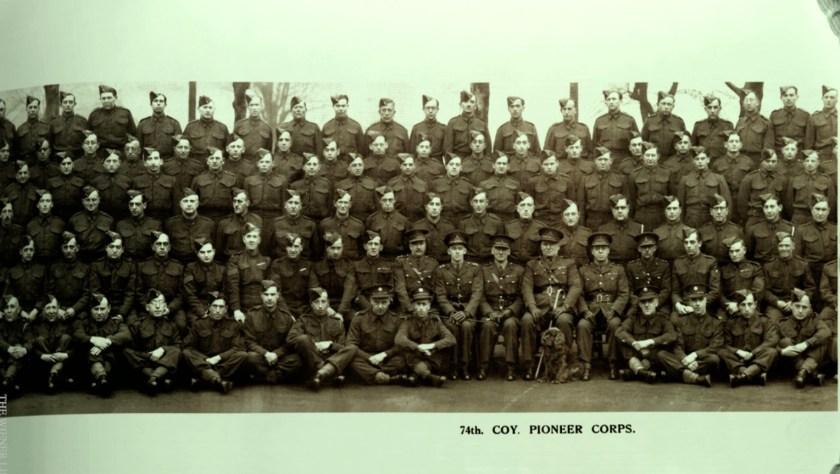 Kitchener camp, 74th Company Pioneer Corps