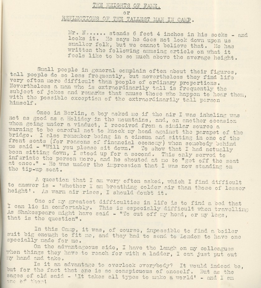 Kitchener Camp Review, April 1939, page 8, base
