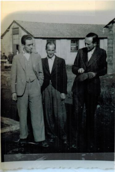 Kitchener camp, 1939, Herbert Mosheim - far right