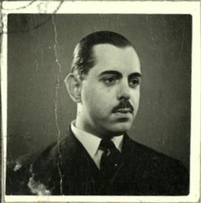 Kitchener camp, Wolfgang Priester, Deutßche Reichspoßt, Carte D'Identitié, photograph