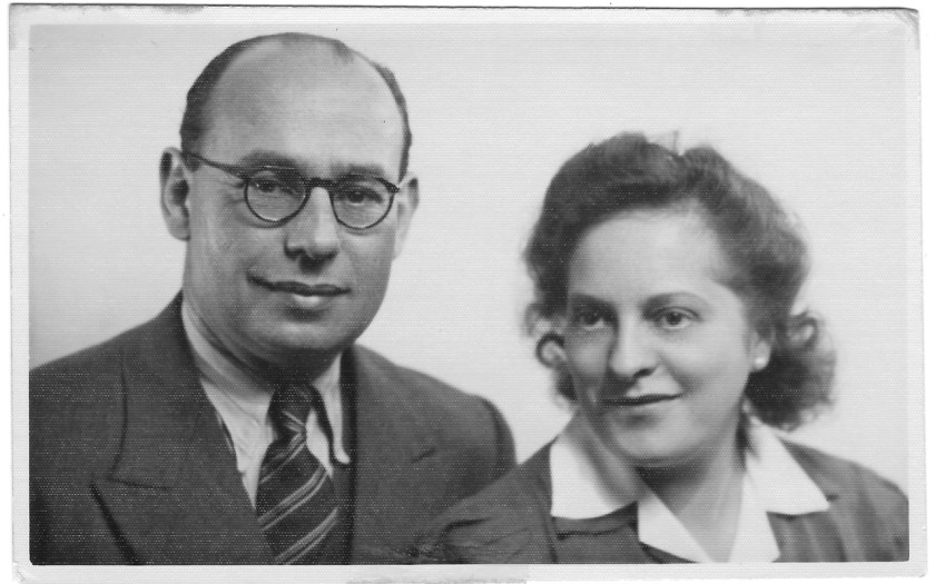 Julius Czarlinski and wife Ruth, Kitchener camp, 1939
