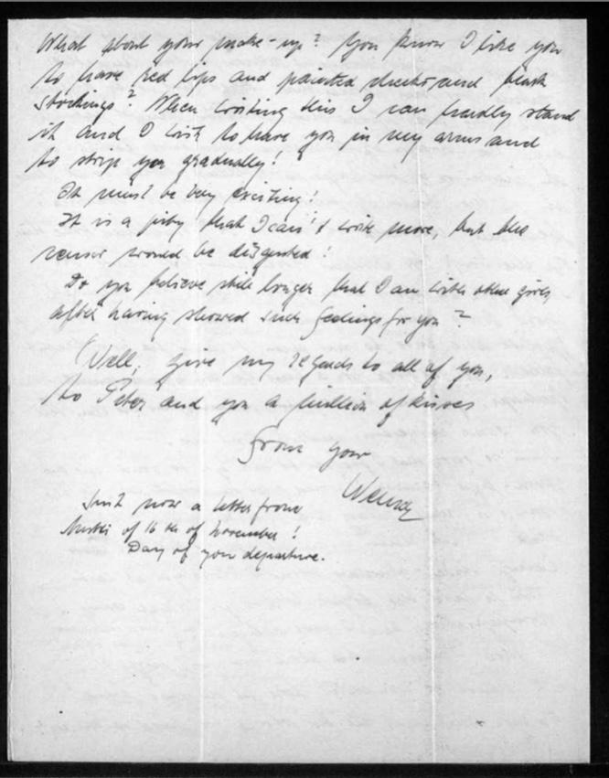 Kitchener camp, Werner Gembicki, Letter, 13 December 1939, page 4