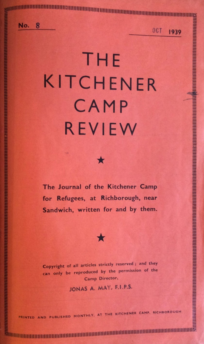 Kitchener Camp Review, October 1939
