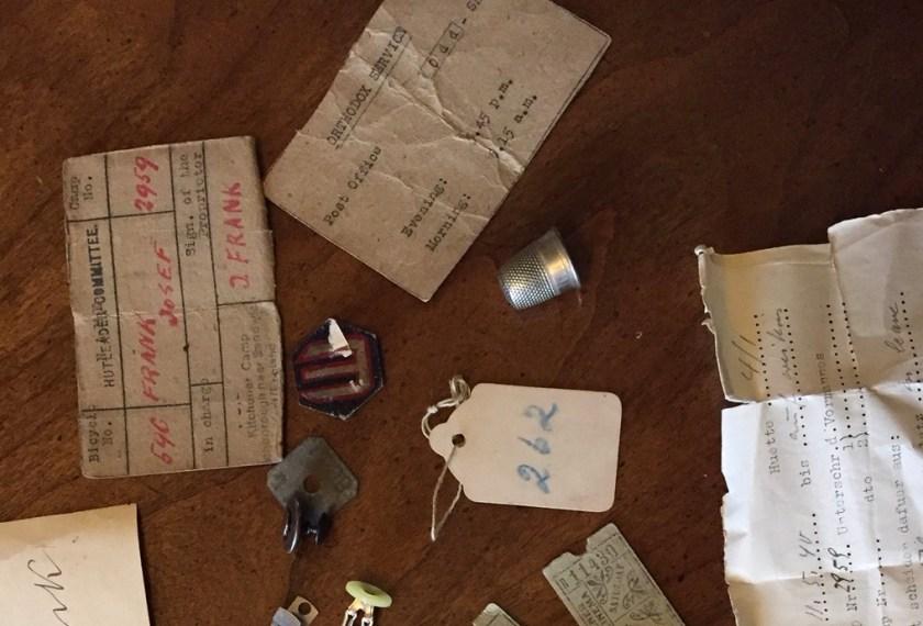 Richborough transit camp, Josef Frank, Items in cigarette tin, 1939 – Thimble