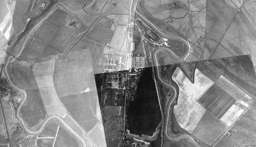 Kitchener camp, Google earth image, January 1940