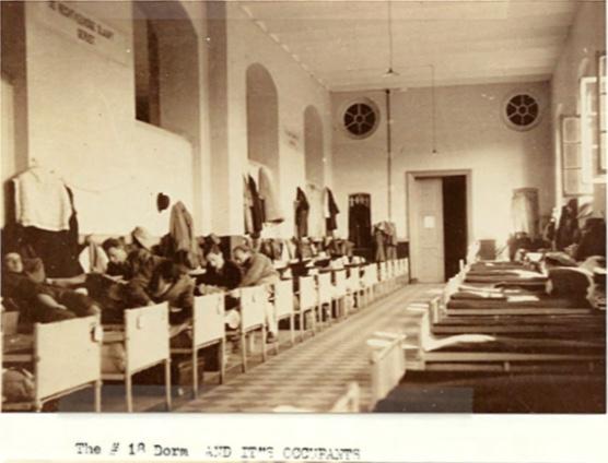 Kitchener camp, Peter Weiss, Autobiography, No. 18 dormitory, Belgium camp