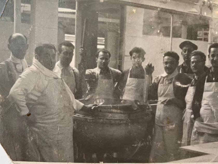 Kitchener camp, Jack Agin, Cook, 1939