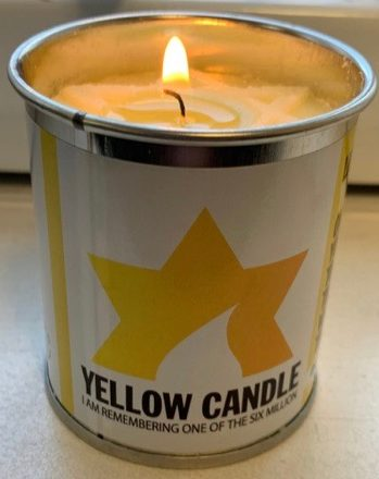 Yom HaShoah 2019 - Yellow candle remembrance
