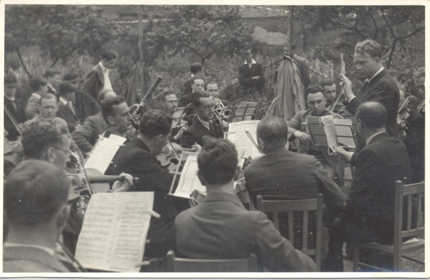 Kitchener camp, Richborough, Franz Schanzer, Orchestra