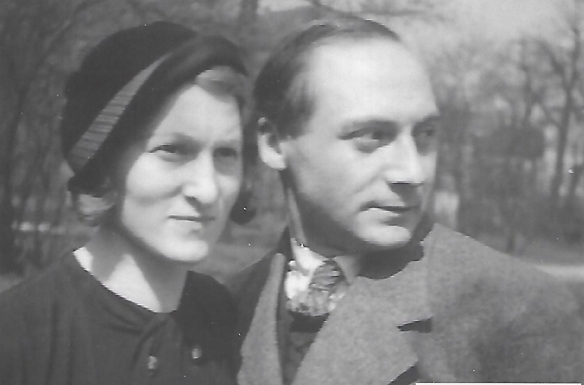 Kitchener camp, Hermann Renkazischock, with Lina