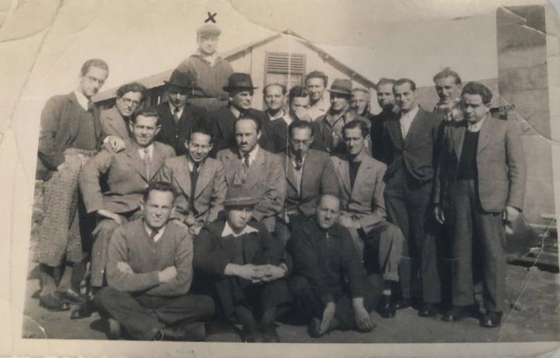 Kitchener camp, Nuchim Kürschner, Probably hut 10/II, with 'x' - friend and business partner from Vienna - Solomon Walter