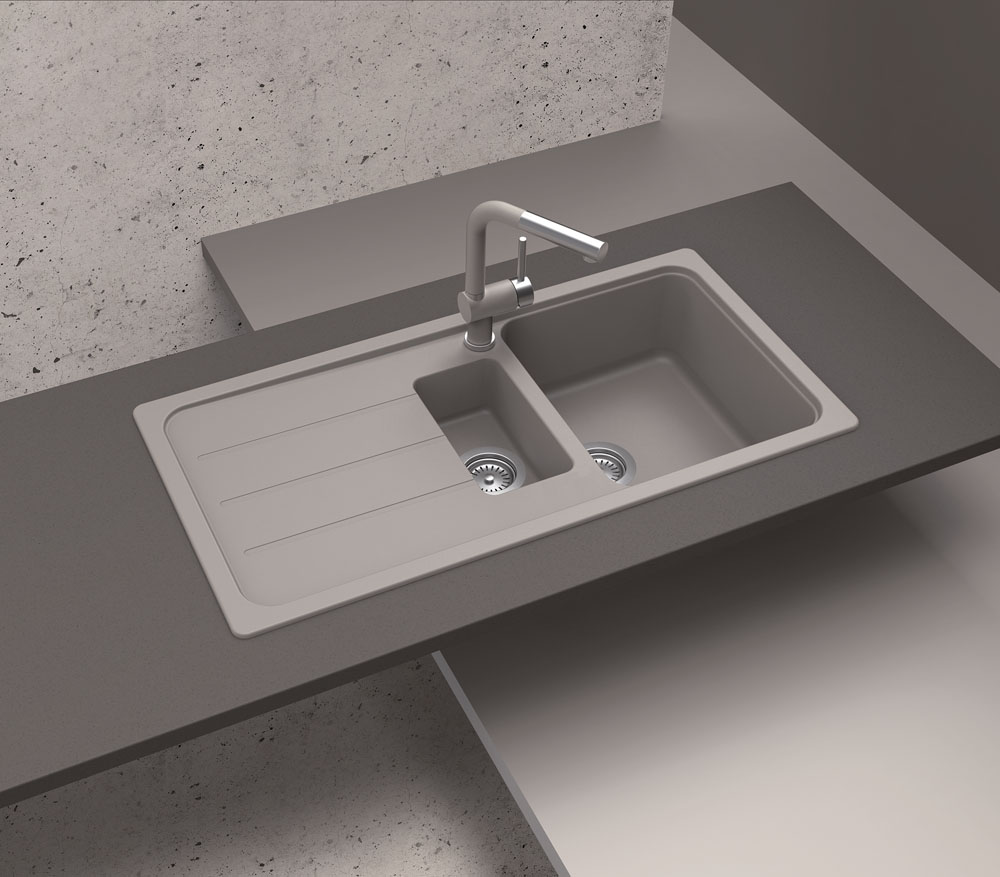 what are composite sinks