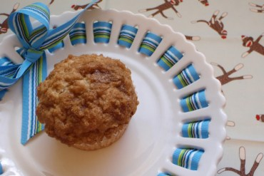 banana crumb muffins | kitchen frolic