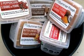 summer fresh sauces