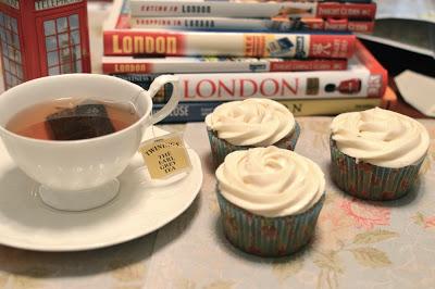 earl grey tea cupcakes london fog
