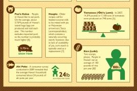 hawaiian food infographic