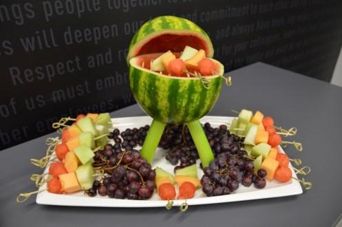 Weber Grill Academy fruit plate