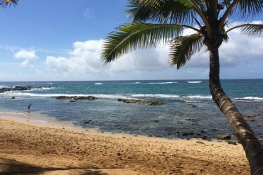 beach on Maui, Hawaii