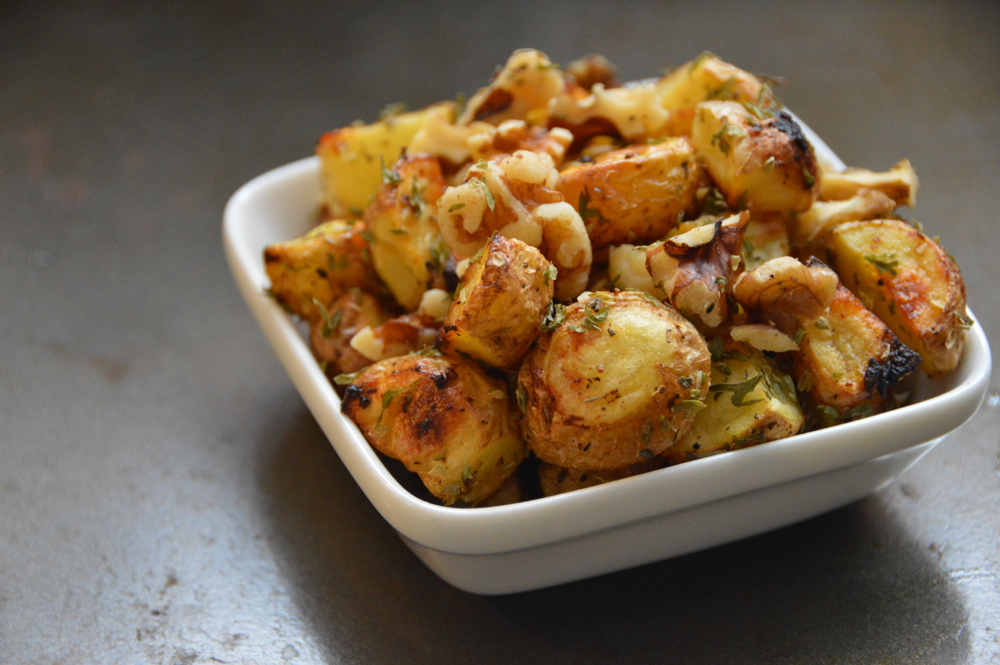 Nourish - Potatoes with Fresh Herbs