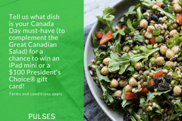 Pulse Canada Canada Day contest