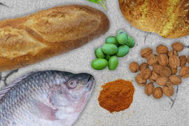 How to Eat Like an Ancient Roman infographic