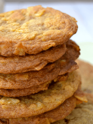 Maple Syrup and Smoky Bacon Crisp Cookies