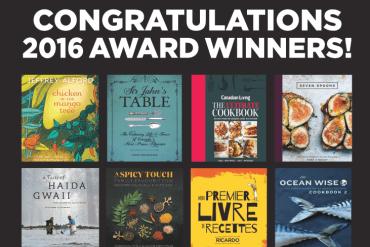 2016 Taste Canada Award winners