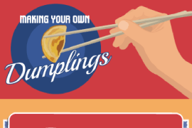 Making Your Own Dumplings infographic