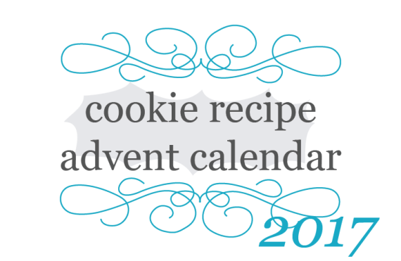 2017 cookie recipe advent calendar