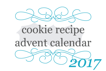 2017 cookie recipe advent calendar