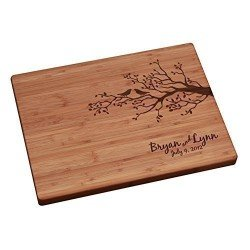 Birds-on-a-Branch-Personalized-Cutting-Board-Review