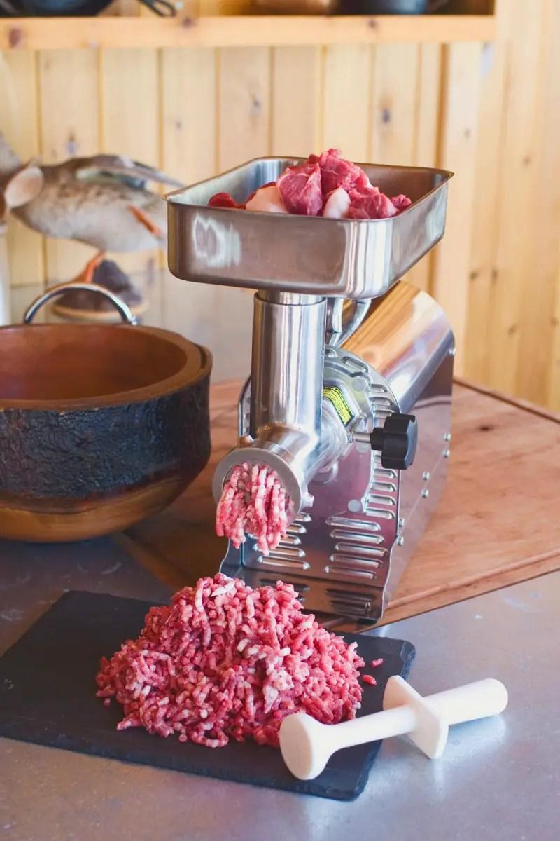 5 weston commercial meat grinder