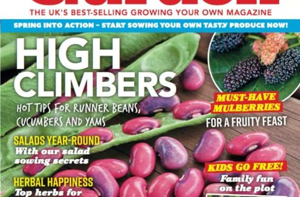 May issue of Kitchen Garden - out now!
