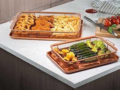 gotham steel crisper tray instructions