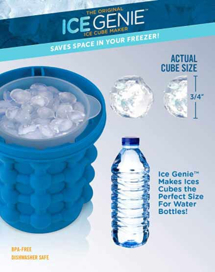 ice cube maker genie review