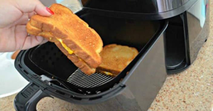 Power Air Fryer Grilled Cheese Recipe