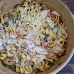 Non-Dairy Creamy Chicken Vegetable Pasta