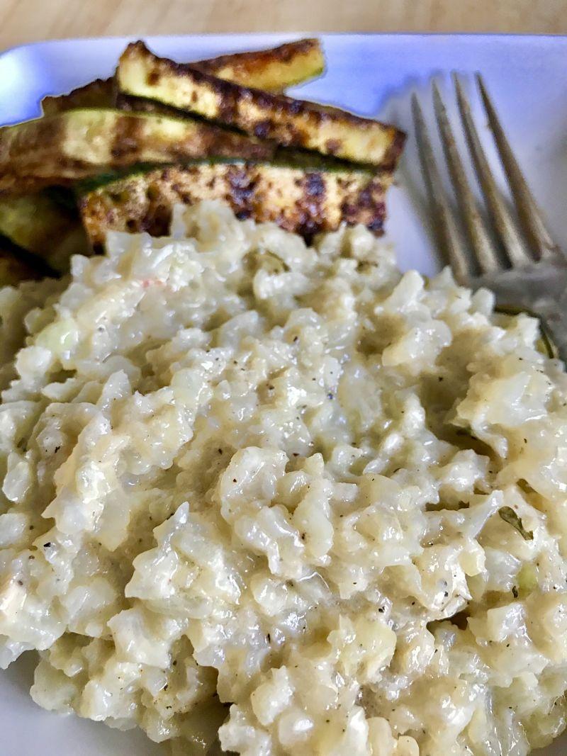 Easy Creamy Dairy-Free Cauliflower Rice Kitchen Gone Rogue